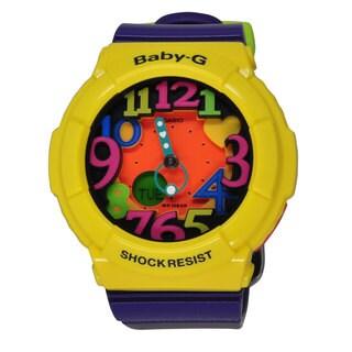 Casio Women's BGA131-9B Baby-G Orange Watch