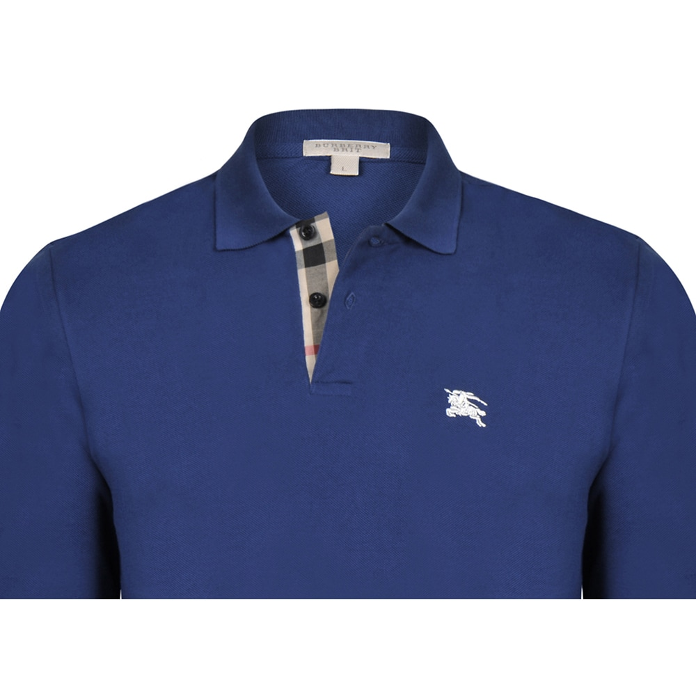 a20cc0f3 Shop Men's Burberry Long Sleeve Polo Shirt - Free Shipping Today -  Overstock - 12064882