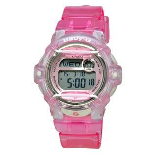 Casio Women's BG169R-4 Baby-G Pink Watch