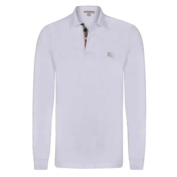 cd5c1bea Shop Burberry Men's Long Sleeve Polo Shirt - Free Shipping Today ...