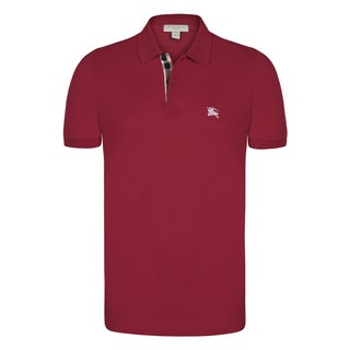 Men's Burberry Short Sleeve Polo Shirt