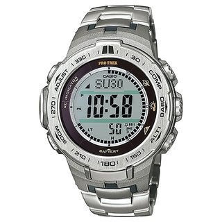 Casio Men's PRW3100T-7 Pro Trek Black Watch