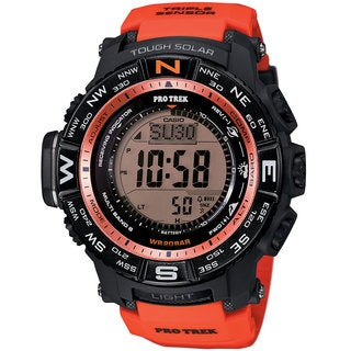 Casio Men's PRW3500Y-4 Pro Trek Orange Watch