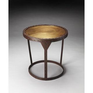 Handmade Butler Bonham Iron End Table (India)
