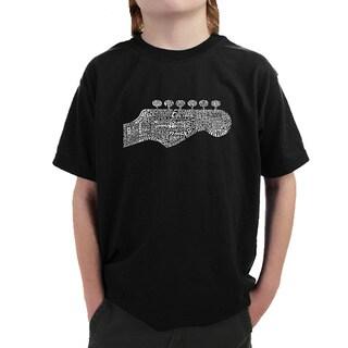 Boys' Guitar Head T-shirt