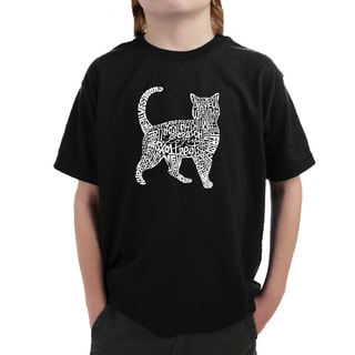 Boy's Cotton Cat T-shirt