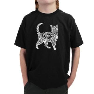 Boy's Cotton Cat T-shirt