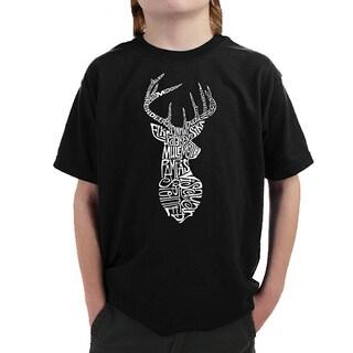 Boy's Types of Deer T-shirt