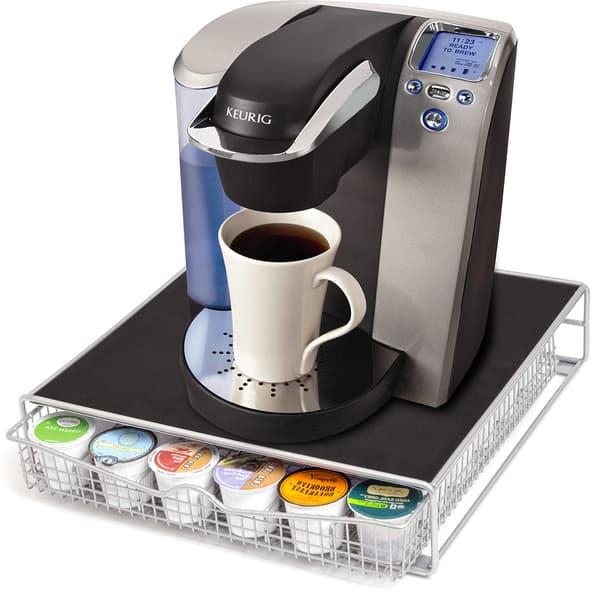 Oxgord Keurig Coffee 36 K Cup Holder Storage Drawer
