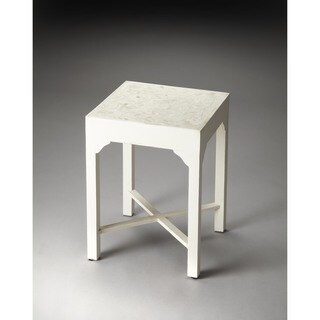 Handmade Butler Vanessa Bone Inlay Bunching Table (India)