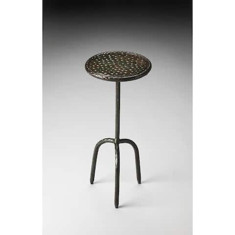 Handmade Butler Founders Iron End Table (India)