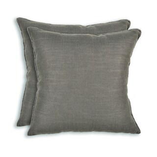 Duck Black and Tan Striped 19x19 Trimmed Throw Pillow - Free Shipping Today - Overstock.com ...