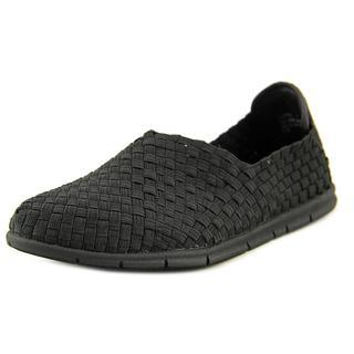 Steven Steve Madden Women's Cliper Black Textile Basic Casual Shoes