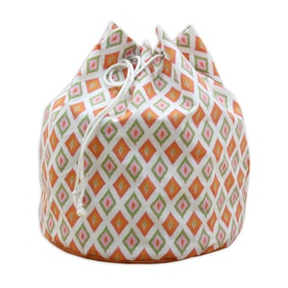 "Carnival Gumdrop 20"""" Round Laundry Bag with Grommets and Tie Closure"