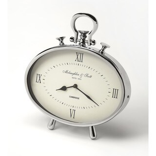 Butler Leah Oval Desk Clock