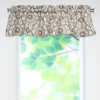 Oh Suzani Metal 53wx15h Rod Pocket Curtain Valance