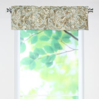 Valdosta Mist 53x15 Rod Pocket Curtain Valance