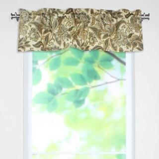 Valdosta Driftwood 53x15 Rod Pocket Curtain Valance
