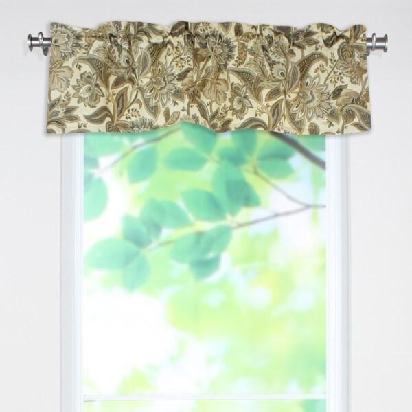 Shop Valdosta Driftwood 53x15 Rod Pocket Curtain Valance