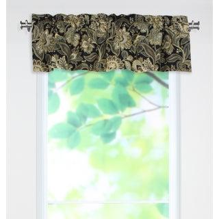 Valdosta Blackbird 53x15 Rod Pocket Curtain Valance