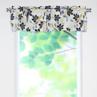 Small Talk Blackbird 53x15 Rod Pocket Curtain Valance