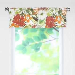 Lilith Marigold 53x15 Rod Pocket Curtain Valance