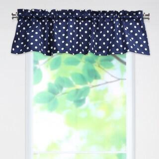 Ikat Dot Sunshine 53x15 Rod Pocket Curtain Valance