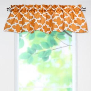 Fynn Cinnamon 53x15 Rod Pocket Curtain Valance