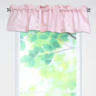 Duck Pink 53x15 Rod Pocket Curtain Valance