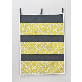 Woburn Sunflower 26w x 36h 9 Pocket Wall Hanging