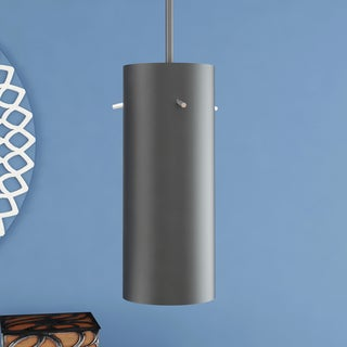Perseus Black Modern Adjustable Hanging Light LED Pendant Light with Cylinder Metal Shade
