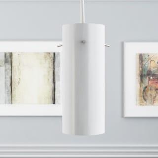 Vonn Lighting Perseus White Aluminum Adjustable Hanging Pendant Light
