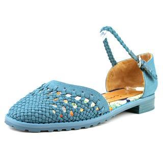 Nina Women's East Blue Cotton Canvas Casual Shoes