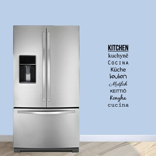 """Words for the Kitchen Wall Decals - 12"""" wide x 36"""" tall"""