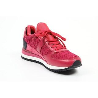 Dolce & Gabbana Nigeria Women's Pink Leather Sneakers