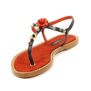 Dolce & Gabbana Women's Sandal|https://ak1.ostkcdn.com/images/products/12065476/P18934342.jpg?impolicy=medium