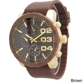 Olivia Pratt Men's 3-dial Classic Watch
