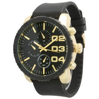 Olivia Pratt Men's 3-dial Classic Watch