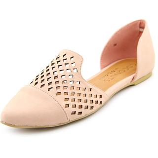 Coconuts by Matisse Women's Elective Pink Faux Leather Dress Shoes