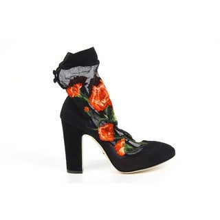 Dolce & Gabbana Women's Vally Floral Booties