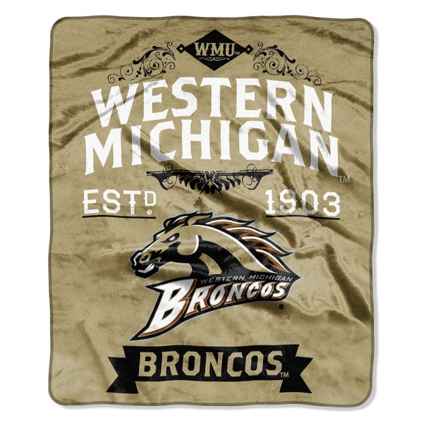 COL 704 Western Michigan Label Raschel