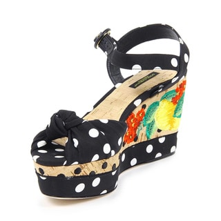 Dolce & Gabbana Women's Bianca Wedge