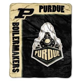 COL 703 Purdue School Spirit Raschel Throw
