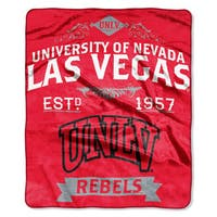 COL 704 UNLV Label Raschel Throw