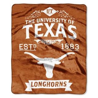 COL 704 Texas Label Raschel Throw