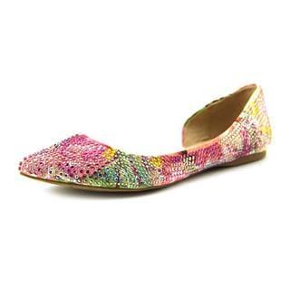 Steve Madden Women's 'Elsa' Pink Fabric Casual Shoes