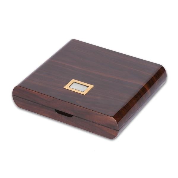 High-gloss Wood Digital Humidor