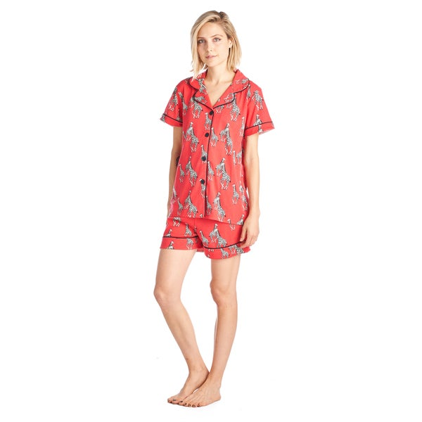 Shop BHPJ by BedHead Classic Shorty PJ Set - Free Shipping On Orders ... 0aeb2dde0
