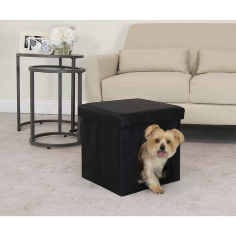Studio Designs Collapsible Pet Bed and Ottoman