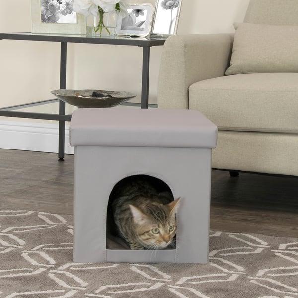 Tremendous Shop Studio Designs Collapsible Pet Bed And Ottoman Free Inzonedesignstudio Interior Chair Design Inzonedesignstudiocom